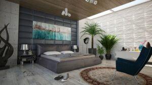 Дизайн спальни стильный