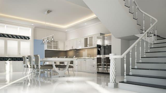 Неоклассический стиль в интерьере дома.
