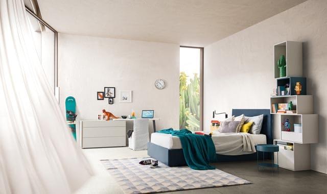 дизайн небольшой спальни детской