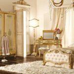 дизайн золотая гостиная спальня