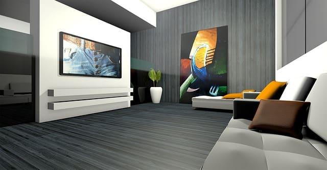 футуристический стиль в интерьере дома или квартиры