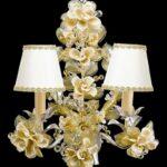 лампы с цветами для интерьера