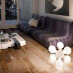 освещение напольное в гостиную