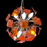 подвесные лампы в интерьере