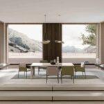 дизайн современной столовой