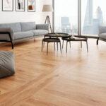 деревянный пол в гостиной