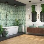 плитка ванной дизайн