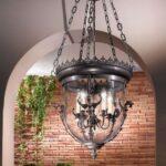 подвесной светильник готика